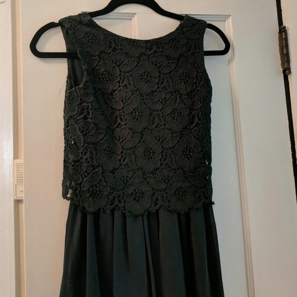 ASOS Dresses & Skirts - Asos green lace dress